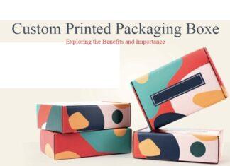 CUSTOM PRINTED BOX PACKAGING